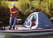 Having a Bassroom will save on gasoline and add to important fishing time.